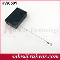 Wholesale Market Purchase Retractable Retail Security Cable With Ring Terminal 7.1x4.5x2.1 Cm from china suppliers