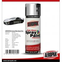 Buy cheap Aeropak fast dry high glossy Chrome Effect Spray Paint, bright chrome color, from wholesalers