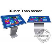 Wholesale 42 inch Multi Function All In One IR Touch Screen Kiosk Floor Stand Metal Case from china suppliers
