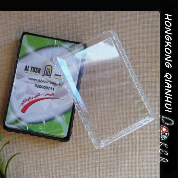 Quality AL YUSR CUSTOM WATERPROOF 100 PLASTIC PLAYING CARDS IN PVC BOX FOR ARABIA MARKET for sale