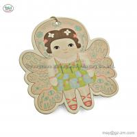 China supplier wholesale custom scented paper car hanging air freshener in beautiful and lovely girl design for sale