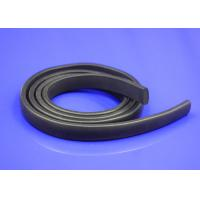 China Square Silicone Door Foam Seal Strips , Shear Bonding Extruded Rubber Strips on sale