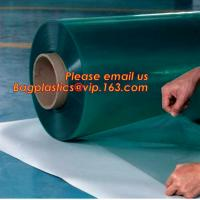 Wholesale Rigid PET Film coated with PE protective film, white color protective film for car, clear carpet protective film in roll from china suppliers