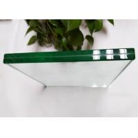 Wholesale High Density Laminated Tempered Glass , Ultra Clear Bathroom Shower Glass from china suppliers