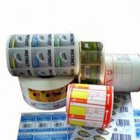 Wholesale number stickers roll from china suppliers