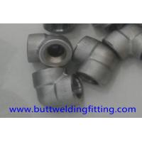 China 3000LB Forged Pipe Fittings Alloy Steel Elbow ASTM A182 F1 MSS SP97 on sale