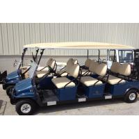 Ce approved electric golf cart with six seater popular for Golf cart motors electric
