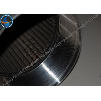 Wholesale Female Threaded Johnson Wedge Wire Screens For Filtration 10-3000mm Length from china suppliers