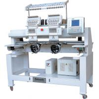 China HY-602 2 Head 6 Needle Cap / Tubular Embroidery Machinery For Capd, Garments, T-Shirt on sale