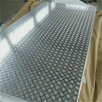 Wholesale 18 Gauge Chequred Polished Aluminum Sheet , 6061 Aluminum Checkered Sheet from china suppliers
