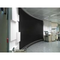 Wholesale HD SMD P4 Flexible Led Screens , Round Curved Led Wall for Rental Show Advertising from china suppliers