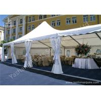 Wholesale High Peak Assembled Frame Luxury Wedding Tents Marquee With Noble Decorations from china suppliers