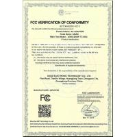 PERFECT INTL FACTORIES HOLDINGS LIMITED Certifications