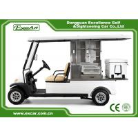 Wholesale EXCAR Aluminum 2 Seats Food Golf Cart With ADC Motor PC Windshield from china suppliers