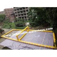 Seaside 0.9mm PVC Tarpaulin Inflatable Volleyball playground Manufactures
