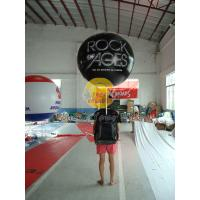 Wholesale Customized PVC Attractive Durable Backpack Balloons with Full digital printing for Parade from china suppliers