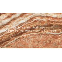 Custom Patterned PET Marble Adhesive Paper Decorative Films For Windows