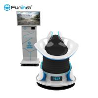 Buy cheap 360 Degree Rotation 9D Virtual Reality Simulator With Two Egg Cabins from wholesalers