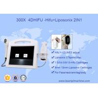 Wholesale 2 In 1 Face Lift 3D HIFU Machine High Intensity Focused Ultrasound 110V - 220V Voltage from china suppliers