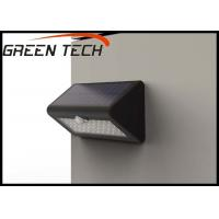 China 100lm/w Solar Powered LED Exterior Lights With PIR And Light Control 4W on sale