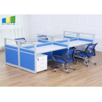 Buy cheap Modular Office Furniture Computer Desk Mesh Office Chair Call Center Open Office from wholesalers