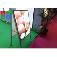 Wholesale Double Sided LED Poster Display A Shaped With Aluminium Frame Profile from china suppliers