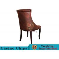 Waterproof Leather Casino Gaming Chairs With Various Colors / Patterns To Choose