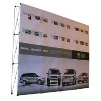 Wholesale Easy Installation Trade Show Backdrop Displays Folding Banner Stand Smooth Surface from china suppliers