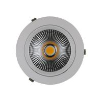 Wholesale Round Directional Recessed Led Lighting 15w Isolated Driver Diameter 110mm Shoplight from china suppliers