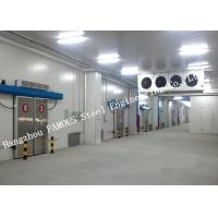 Wholesale Commercial PU Sandwich Cold Room Panel Walk In Freezer For Meat And Fish Storage from china suppliers