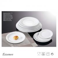 Wholesale White Ceramic Dessert Plates Unglazed Porcelain Type For Restaurant And Hotel from china suppliers