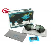 Adult Polarized Mirrored Aviator Sunglasses With Dark Green Unbreakable Lens