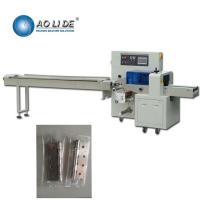 China Semi Automatic Horizontal Flow Pack Machine / Steel Wool Pouch Packing Machine on sale