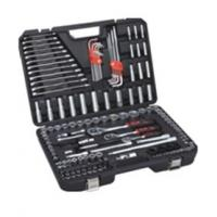 Wholesale 155 pcs socket tool set ,with combination wrenches ,extension bar ,universal joint . from china suppliers