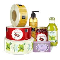 China Plastic Bottle Labels With Fancy Custom Design For Bath And Beauty Labels on sale