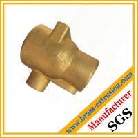 China copper Zinc alloy brass hot extrusion brass hot forgings  press forged casting components on sale