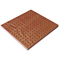 Wholesale Perforated Theater Wooden Acoustic Panel Anti-fire Sound Absorption from china suppliers
