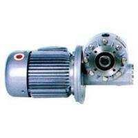 China WJ Series Worm Gear Speed Reducer with Motor on sale