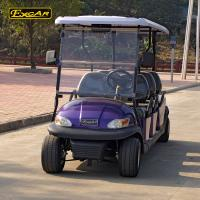 Buy cheap Corrsion - Resistant 6 Person Electric Golf Carts With LED Front Or Rear Lights from wholesalers