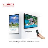 China Flat Panel Wall Mounted Advertising Display 32 220V 1920*1080 Resolution Android on sale