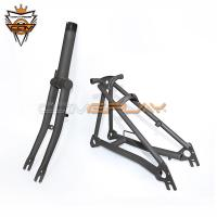Wholesale Raw Color Brompton Titanium Parts Titanium Alloy Ultra Light Fork Rear Triangle from china suppliers