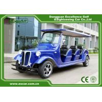 Wholesale Elegant Blue Electric Classic Cars 6 Seater Electric Vintage Car from china suppliers
