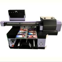 Buy cheap Kmbyc Flatbed A3 UV Printer Direct To Leather Inkjet Printing Machine from wholesalers