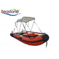 China Personal Hard Bottom Dinghy Boats / Rigid Floor Blow Up Boat Raft on sale
