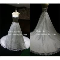 Simple sweetheart strapless backless wedding dress bridal for Strapless backless wedding dress