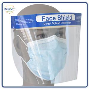 Wholesale Latex Free Disposable CBM Anti Fog Medical Face Shield Visor from china suppliers