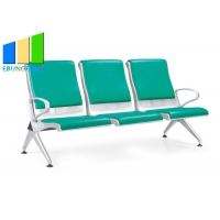 Wholesale Colourful Cushion PU Leather Waiting Room Chairs Airport Seaters from china suppliers