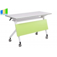 Buy cheap Office Furniture Partitions Folding Desk Foldable Training Table Computer from wholesalers