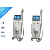 China Stationary 1200W Diode Laser Hair Removal Machine 10.4 '' Color Touch LCD Screen on sale