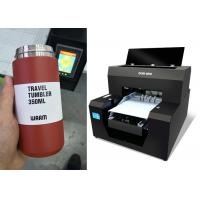 China Automatic Small Bottle Printing Machine / A3 Size Uv Flatbed Printer 2880dpi on sale